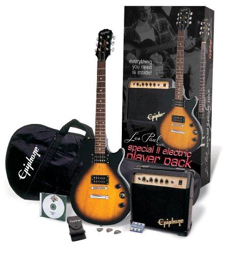 Epiphone Special-II Les Paul Player Pack, Vintage Sunburst