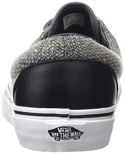 Ginnastica Leather Black amp; Era Vans Basse Nero Scarpe Adulto Excalibur Wool – da Unisex qPqwt1Ov