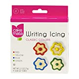Cake Mate Writing Icing Classic Colors, 4 ct (Pack of 3)