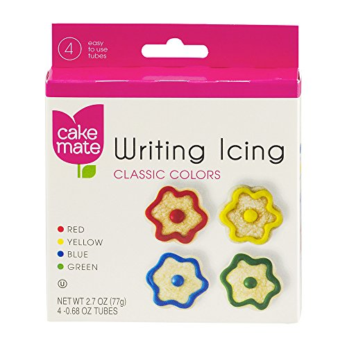UPC 071169048998, Cake Mate Writing Icing Classic Colors, 4 ct (Pack of 3)