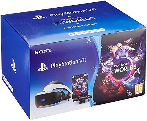 PlayStation 4 Virtual Reality + Camera + VR Worlds Voucher [neue PSVR Version] 3