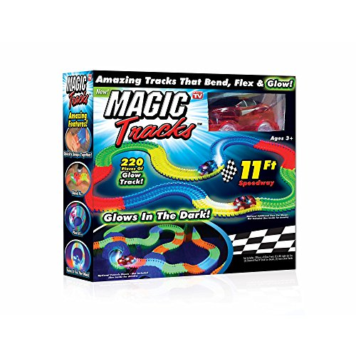 Glow Racetrack & As Seen On Tv Magic Tracks-bend Flex