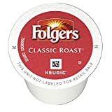 Folgers K Cups Coffee Pods, Medium Roast, Classic, 36 Count, Pack of 4