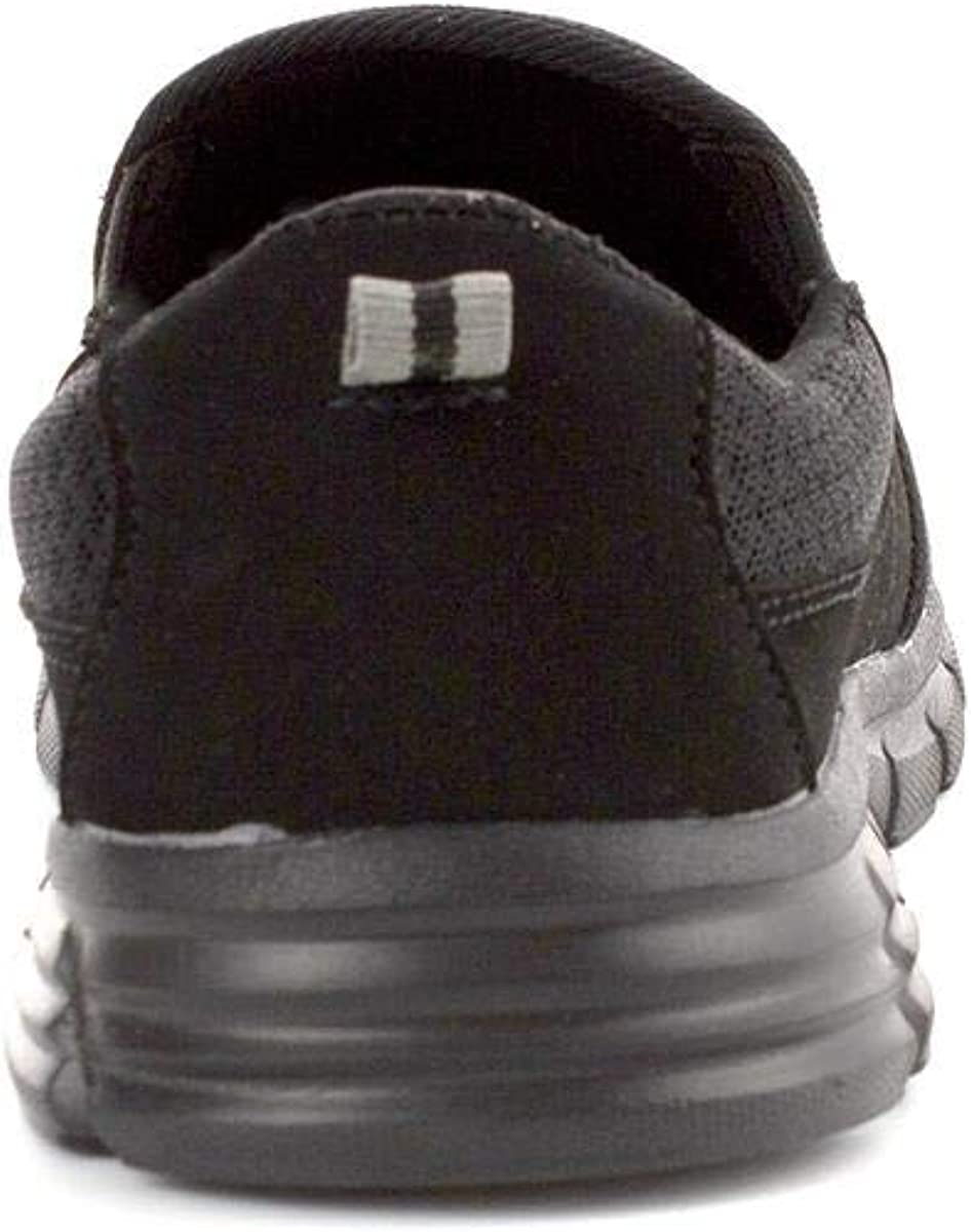 Lilley Womens Black Memory Foam Casual Sporty Shoe