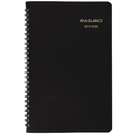 Amazon.com: AT-A-GLANCE 2019-2020 - Agenda semanal para ...