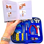 "EZTool Watch Repair Tool Kit, XL Jaxa Wrench Plus 41-Page Watchmakers ""Maintenance & Service"" Manual"