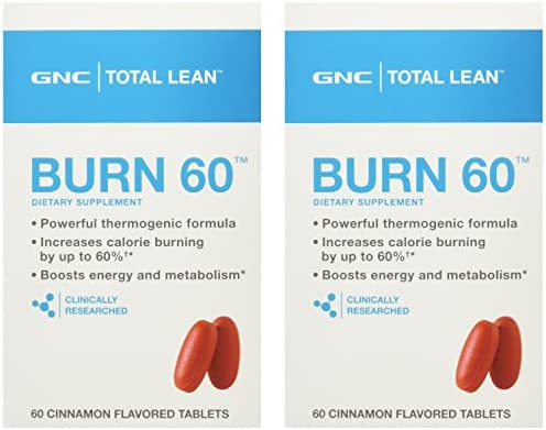 GNC Total Lean Burn - Cinnamon - 120 Tablets ( 60/60)