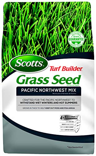 Scotts Turf Builder Grass Seed - Pacific Northwest Mix, 20-Pound (Best Lawn Seed For Pacific Northwest)
