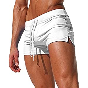 Malavita Mens Swim Trunks with Zipper Pocket