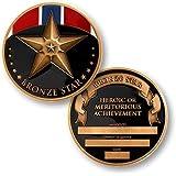 Bronze Star Challenge Coin
