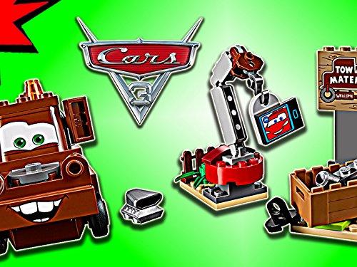 Clip: Mater's Junkyard - Truck Tow Lego