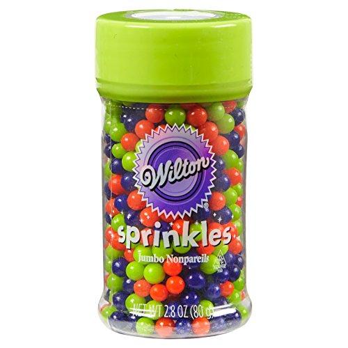 (Wilton Sprinkles Jumbo Nonpareils, 2.8 OZ)