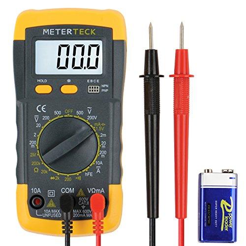 Price comparison product image M-teck Digital Multimeter Voltmeter Multitester