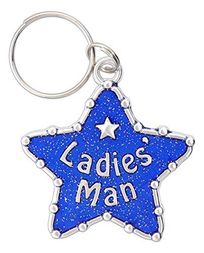 Midwest-CBK Funny Novelty Pet Collar Charm (Ladies Man)