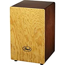 Pearl PBC507 Primero Box Gypsy Cajon with Tunable Snares, Brown