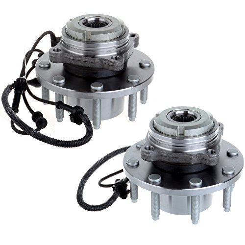 ECCPP 2 Front LH Or RH Wheel Hub Bearing Assembly For Excursion F250 Super Duty F350 Super Duty 4WD 4 X 4 - Excursion Front Hub