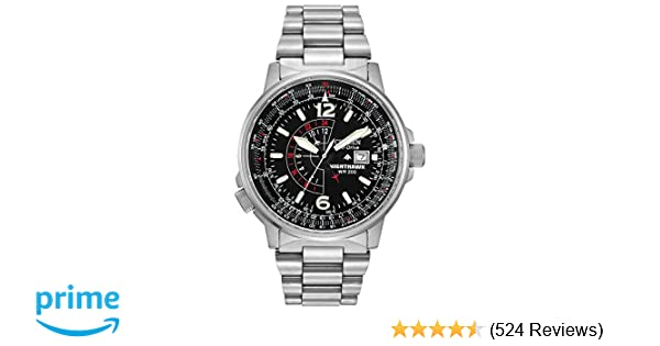 Amazon.com: Citizen Mens Eco-Drive Promaster Nighthawk Dual Time Watch with Date, BJ7000-52E: Citizen: Watches