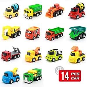 Mini Go Niños 5 Camiones Conjunto CochesFriccion Años De 4 6 Coches Y Para And 3 Push Juguete14 Yvbm7yf6Ig