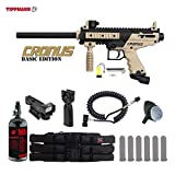 Cheap MAddog Tippmann Cronus Basic HPA Red Dot Paintball Gun Package – Black/Tan