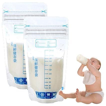 30 bolsas refrigeradoras de leche materna, 250 ml bolsas de ...
