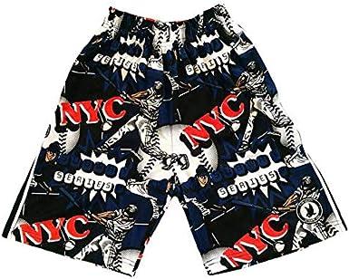 Flow Society NYC Baseball Boys Athletic Shorts Boys Baseball Shorts