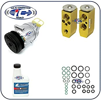 A/C Remanufactured Compressor Kit Fits Chevrolet Aveo 2009-2011 Aveo5 2009-2011 Pontiac G3 2007-2010 Pontiac G3 Wave 2009 L4 1.6L 67297