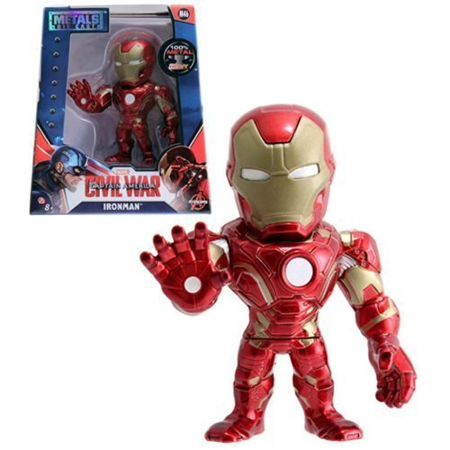Captain America: Civil War Iron Man 4-Inch Die-Cast Metal Action Figure