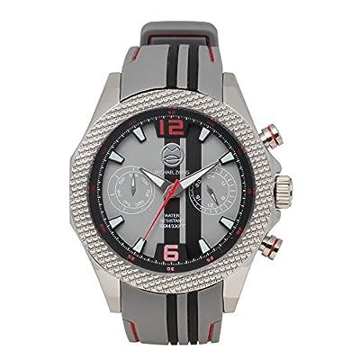 Michael Zweig V12 Racer Silicone Strap Sport Watch