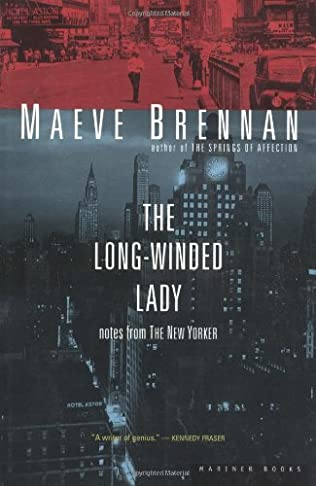 book cover of The Long-Winded Lady