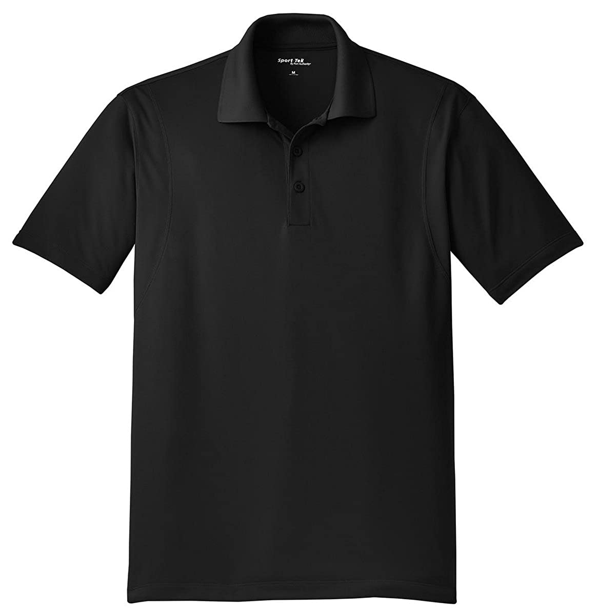 Sport-Tek ST650 Micropique Sport-Wick Polo Black 6XL