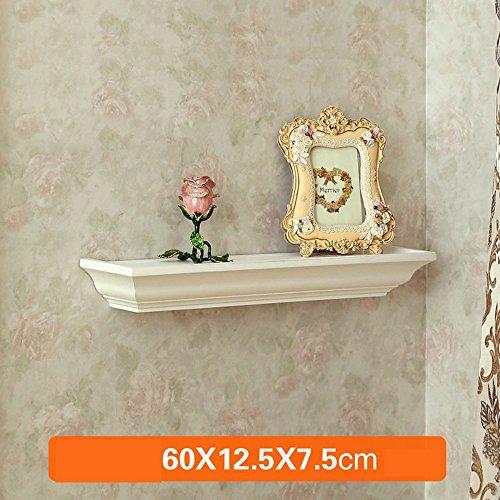 Shelf European Wall Rack, Wooden Frame Hangers, Creative Lines Living Room Bedroom partitions, Jane European Decorative Frame (Color : 2#) by Shelf
