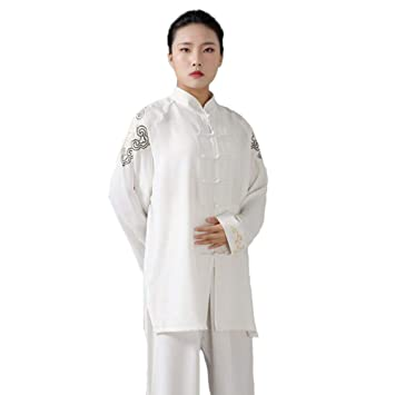 HANHJ Tai Chi Uniforme Traje De Kungfu Artes Marciales Traje De ...