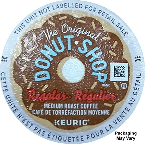 The Original Donut Shop Regular Keurig K-Cup Pack, (100 Pods), Packaging May Vary