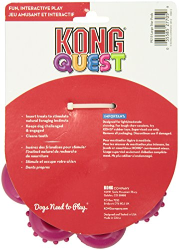 KONG Quest Star Pods Dog Toy, Large 4
