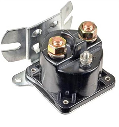 New Heavy Duty 200 Amp Solenoid Switch Relay Replaces SAZ4201GF, 15-535, Curved Base MTE Pumps
