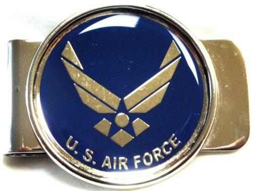 USAF (AIR FORCE) Money Clip Cardholder
