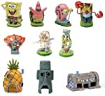 Spongebob aquarium decorations, Set 10pc