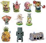 SpongeBob 10 Piece Aquarium Set