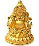 Sethi Traders Yellow Resin Lord Kuber Statue