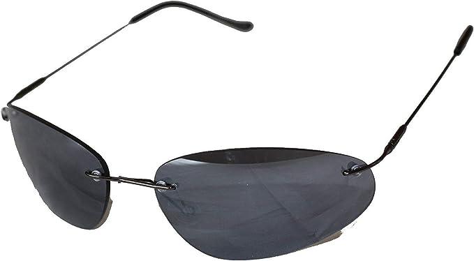 Matrix de style néo Lunettes de soleil lunettes noires Emeco