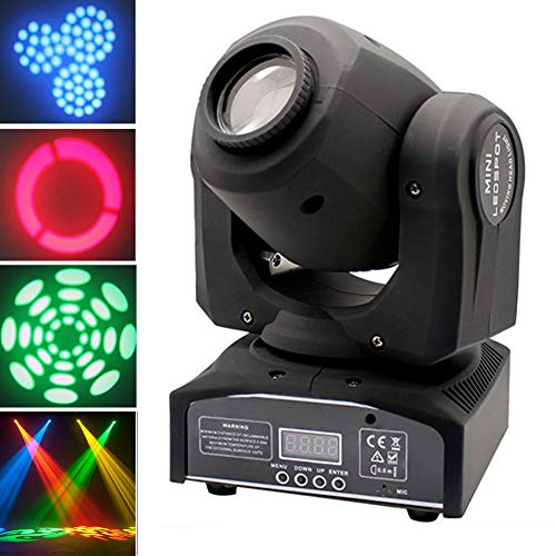 4Pcs 60W RGBW Stage Light LED Moving Head Lights Disco DJ Party Stage Lighting DMX Control