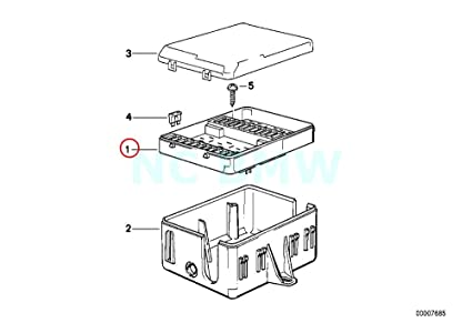 Amazon Com Bmw Genuine Fuse Box Automotive