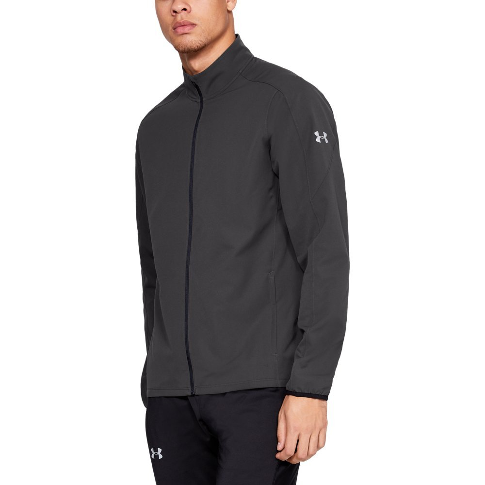 Under Armour Men's Storm Out & Back Jacket, Charcoal, Small