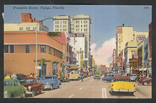 Madison Maas Bros Magnon Super Outlet Franklin Street Tampa FL postcard - Tampa Outlets Fl