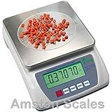 6000 gram x 0.1 .1 gram High Resolution Digital Balance Scale Laboratory Analytical Bench Grain Carat Gun Powder Gold Jewelry Counting Ammo Reload