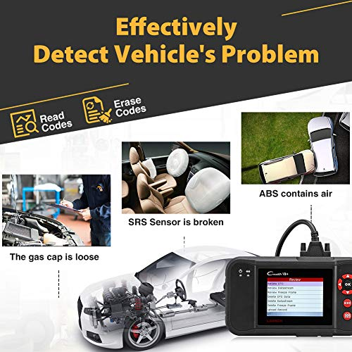 LAUNCH Black Creader VII+ OBD2 Scanner ABS SRS Transmission and Engine Code Reader Diagnostic Scan TPMS Activation Tool Gift by LAUNCH (Image #7)