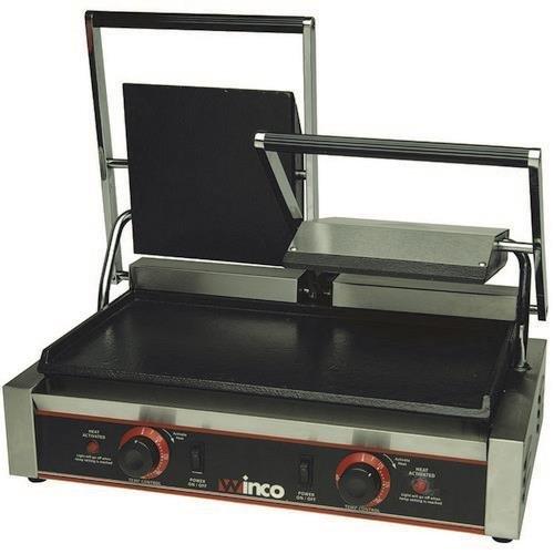 Winco ESG-2 Sandwich Grill, electric, countertop double