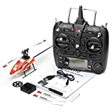 Aoile for XK K110 Brushless RC Helicopter RTF / BNF for Kids Children Funny Toys Gift RC Drones Outdoor K110 with Remote Control