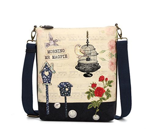 Vendula Women Songbird Ladies Handbags Faux London Crossbody Designer Bag Leather qgfrZx1qw
