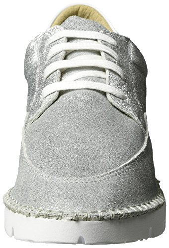 Bstitchx Silver de por Bronx Casa Bx Mujer Estar Zapatillas Plata 1246 para 1xSS7PqE